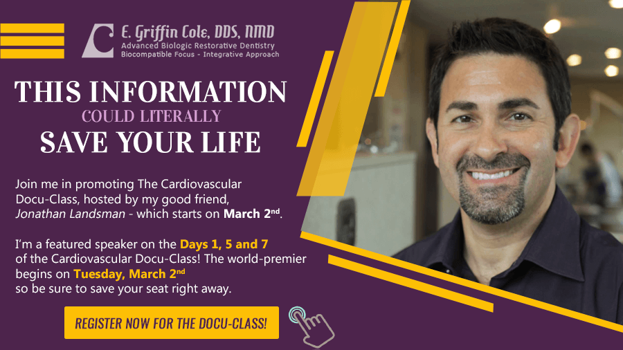 Dr.Griffin Cole wii be featured speaker on DAY 1 of the Cardiovascular Docu-Class