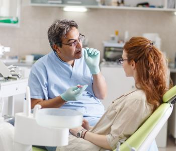 Patients in Meridian learn the signs, symptoms, and risk factors of gum disease
